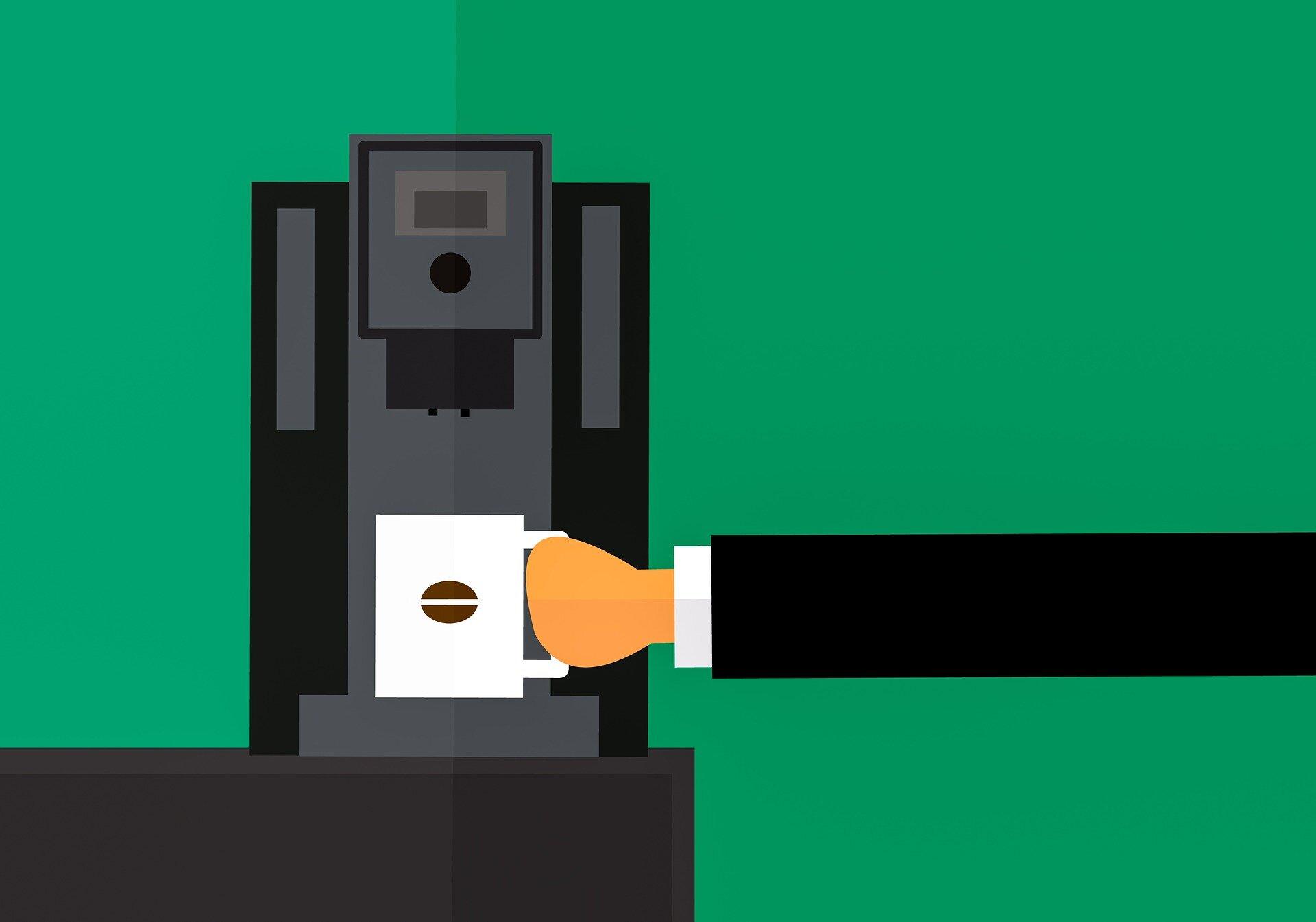 Automat do kawy w Twoim biurze lub sekretariacie